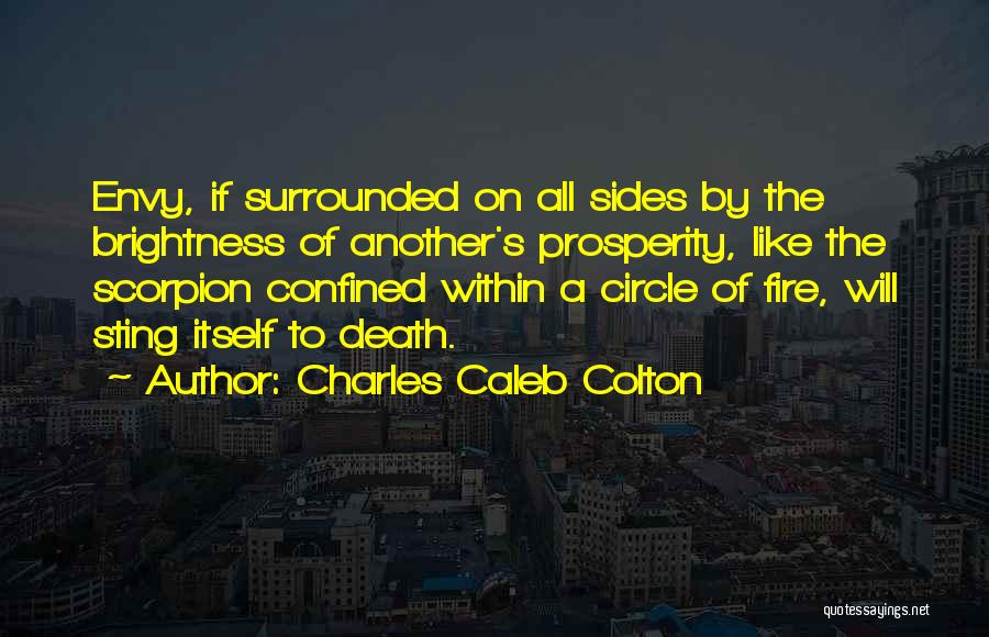 Scorpion Quotes By Charles Caleb Colton