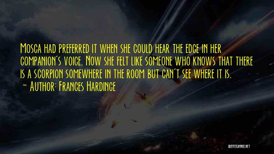 Scorpion Quotes By Frances Hardinge