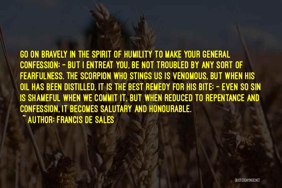 Scorpion Quotes By Francis De Sales