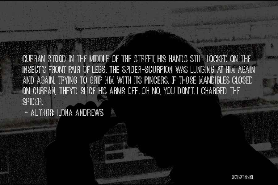 Scorpion Quotes By Ilona Andrews