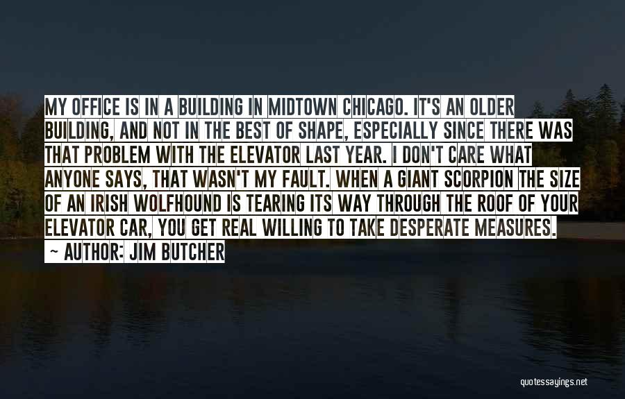 Scorpion Quotes By Jim Butcher