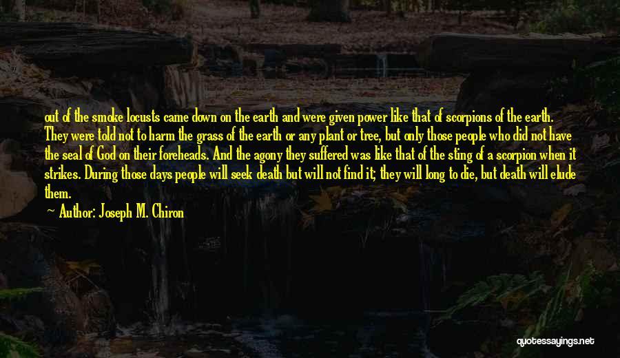 Scorpion Quotes By Joseph M. Chiron