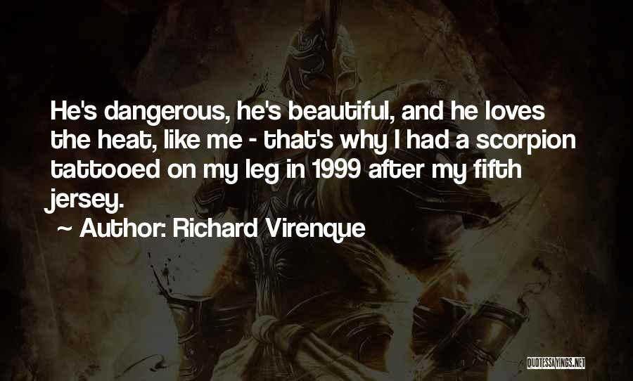Scorpion Quotes By Richard Virenque