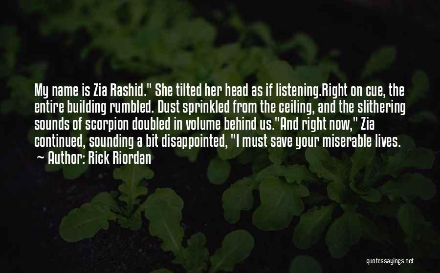 Scorpion Quotes By Rick Riordan
