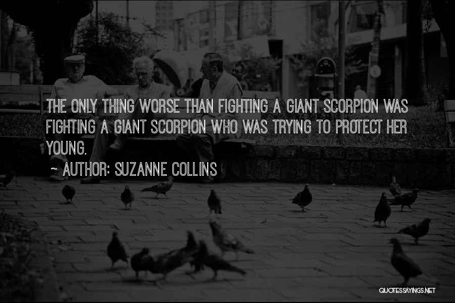 Scorpion Quotes By Suzanne Collins