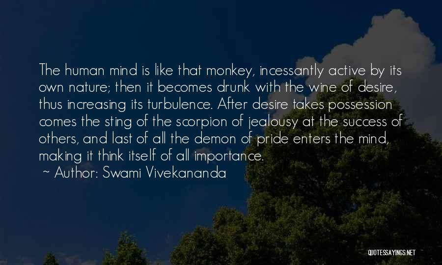 Scorpion Quotes By Swami Vivekananda