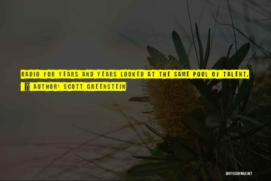Scott Greenstein Quotes 1038960