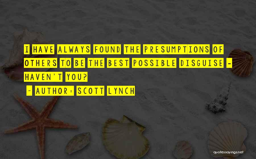 Scott Lynch Quotes 146088
