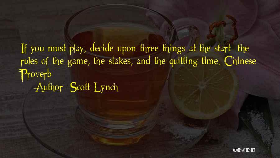 Scott Lynch Quotes 1536704