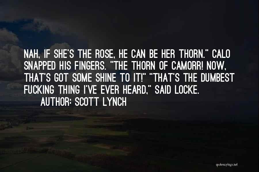 Scott Lynch Quotes 951017