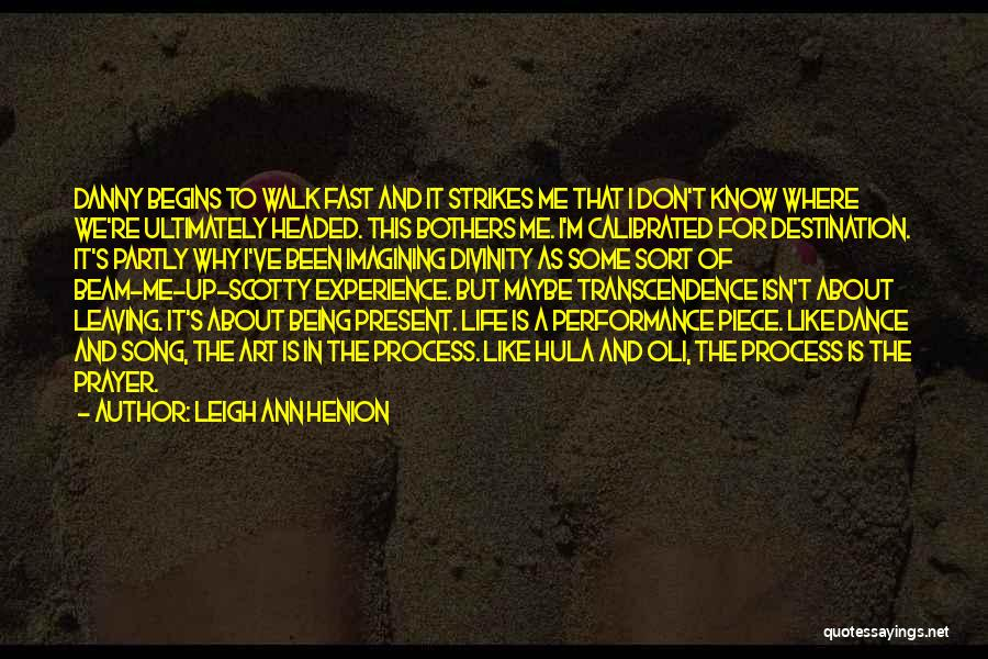 Scotty T Best Quotes By Leigh Ann Henion