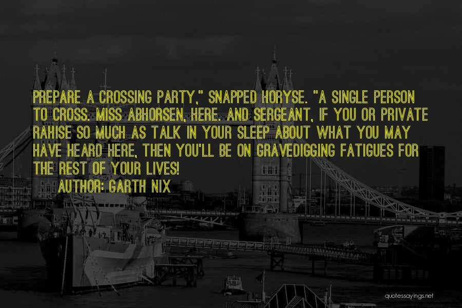 Scouts-many-marshes Quotes By Garth Nix