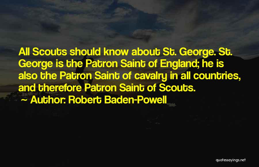 Scouts-many-marshes Quotes By Robert Baden-Powell