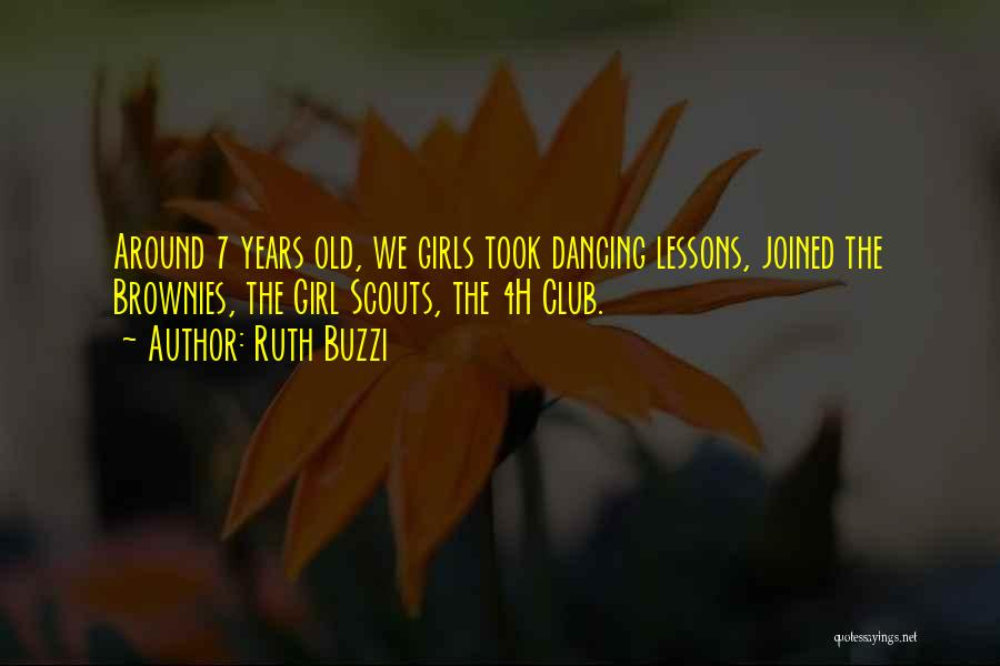 Scouts-many-marshes Quotes By Ruth Buzzi