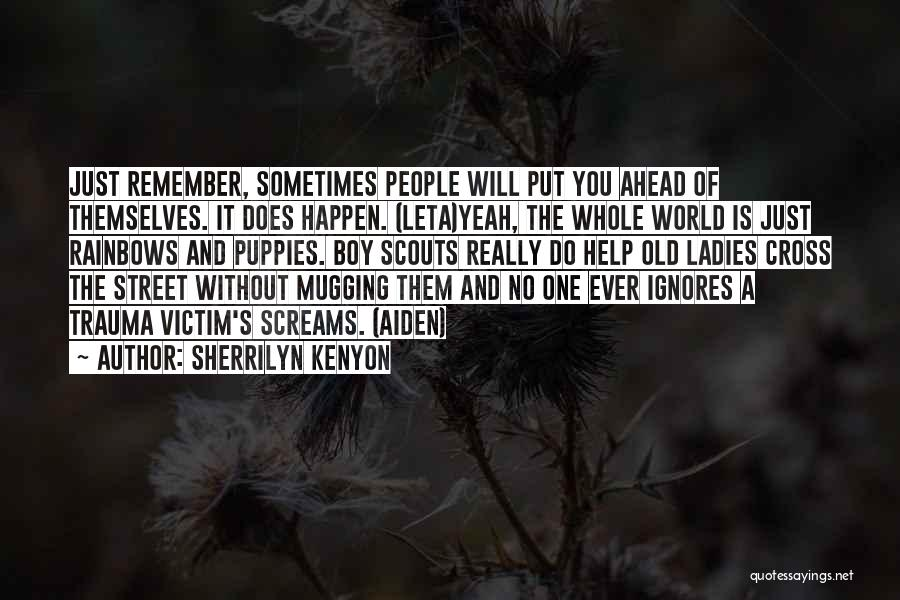 Scouts-many-marshes Quotes By Sherrilyn Kenyon