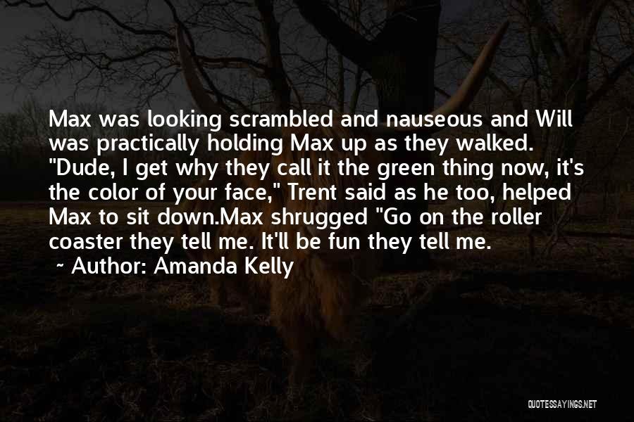 Scrambled Quotes By Amanda Kelly
