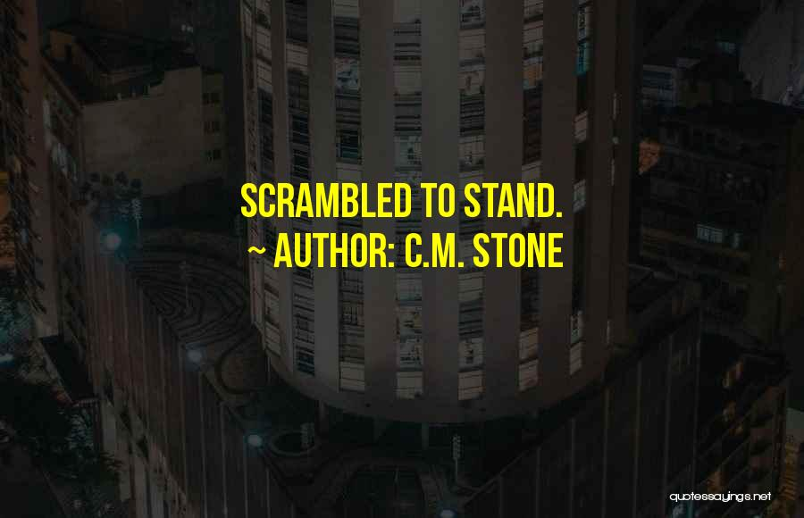 Scrambled Quotes By C.M. Stone