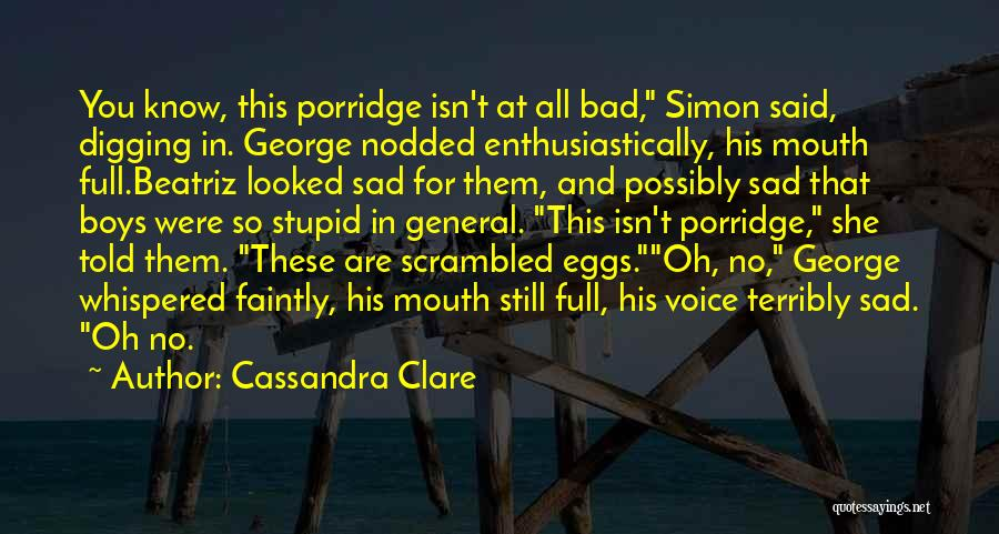 Scrambled Quotes By Cassandra Clare