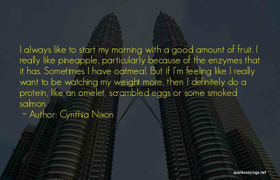 Scrambled Quotes By Cynthia Nixon