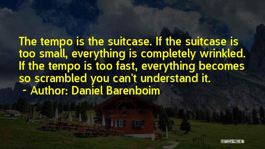 Scrambled Quotes By Daniel Barenboim