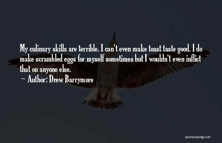 Scrambled Quotes By Drew Barrymore