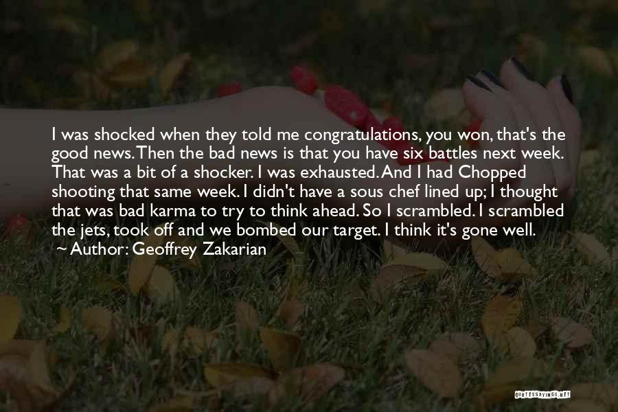 Scrambled Quotes By Geoffrey Zakarian