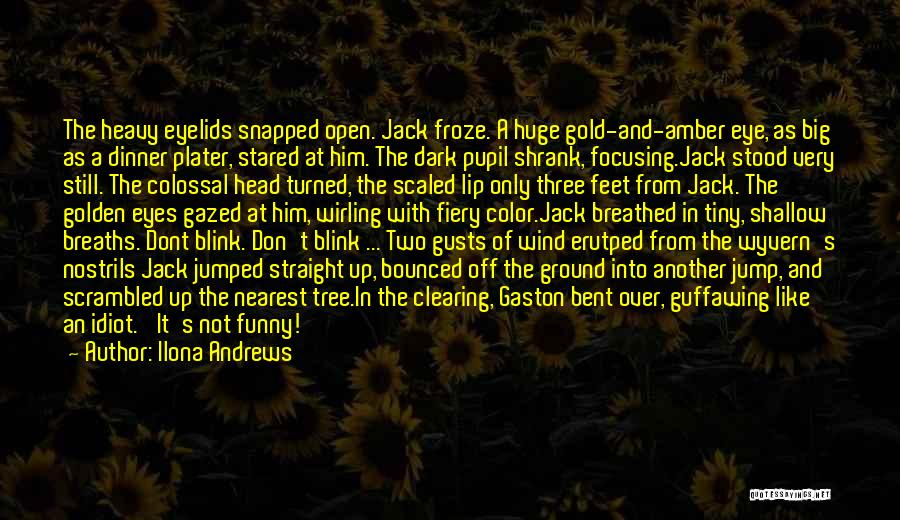 Scrambled Quotes By Ilona Andrews