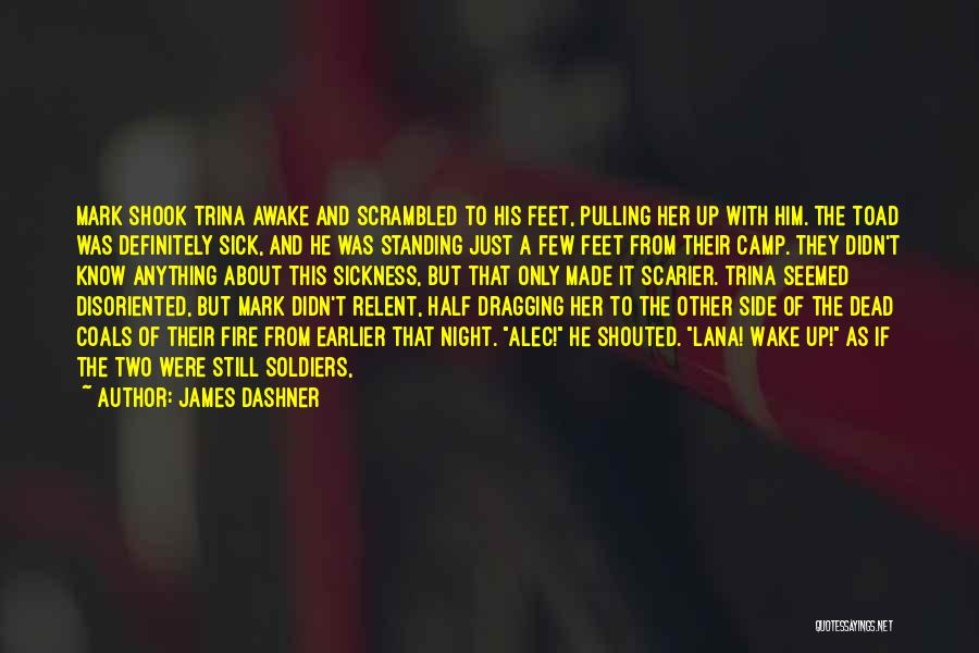 Scrambled Quotes By James Dashner