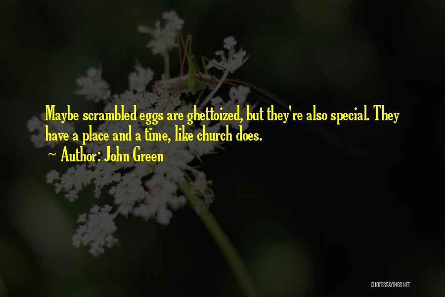 Scrambled Quotes By John Green