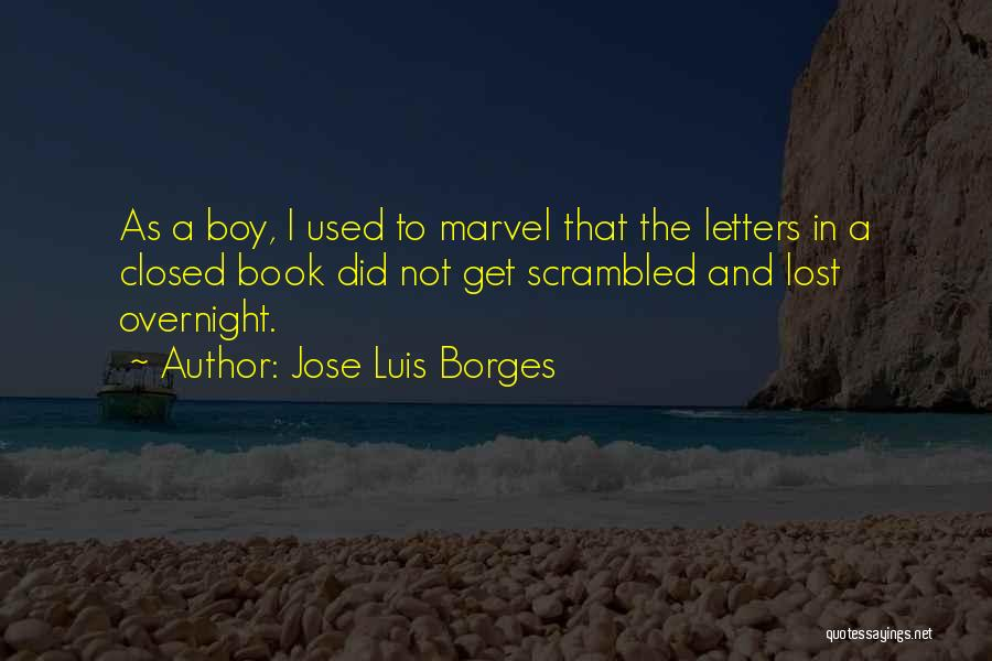 Scrambled Quotes By Jose Luis Borges