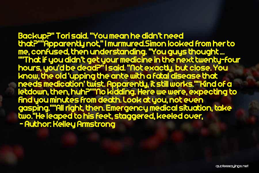 Scrambled Quotes By Kelley Armstrong