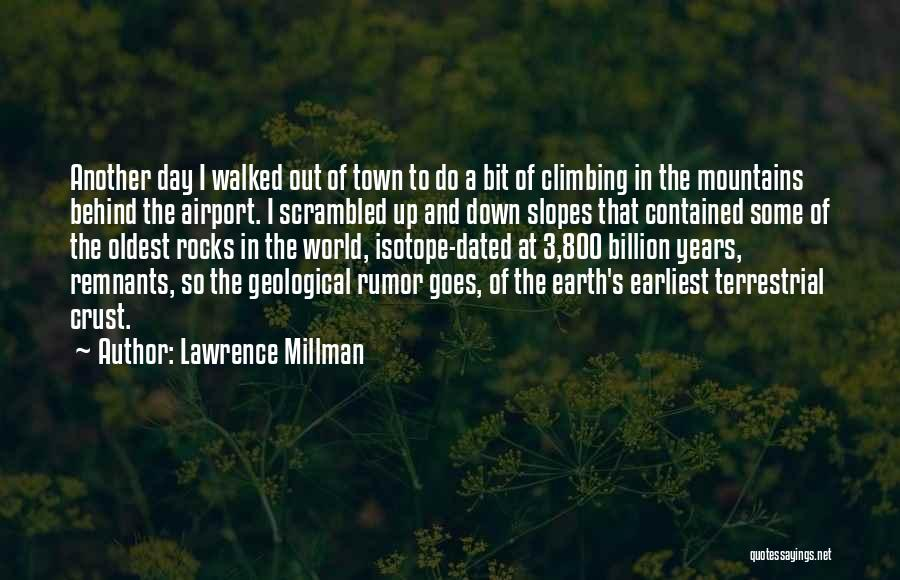 Scrambled Quotes By Lawrence Millman