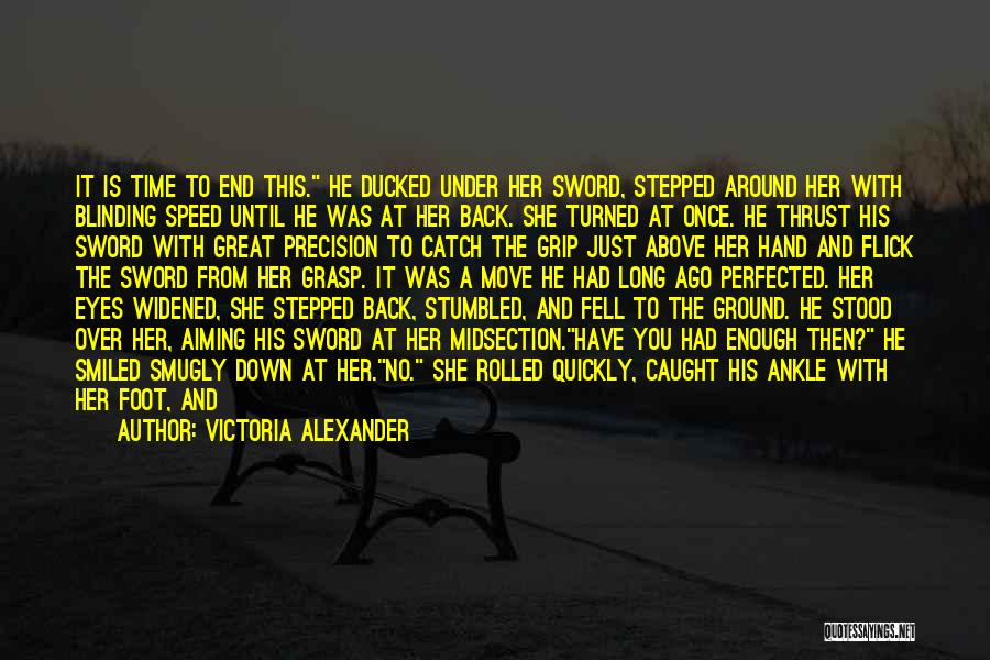 Scrambled Quotes By Victoria Alexander