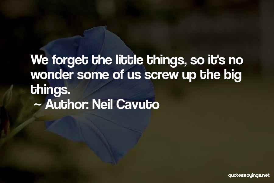 Screw Things Up Quotes By Neil Cavuto