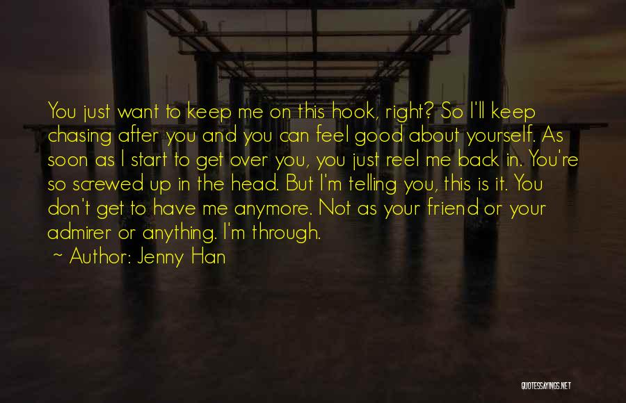 Screwed Up Head Quotes By Jenny Han