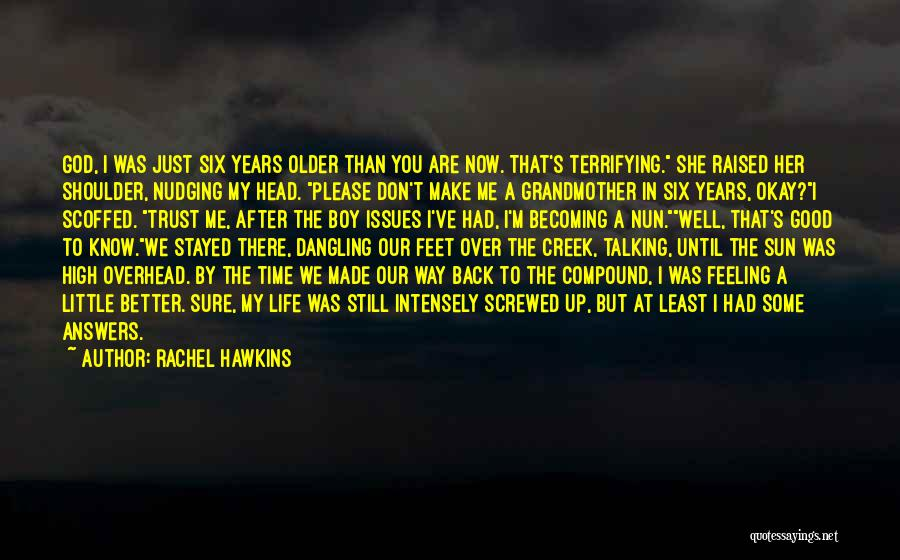 Screwed Up Head Quotes By Rachel Hawkins