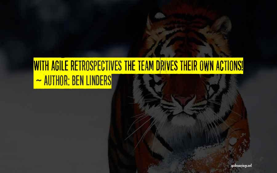 Scrum Team Quotes By Ben Linders