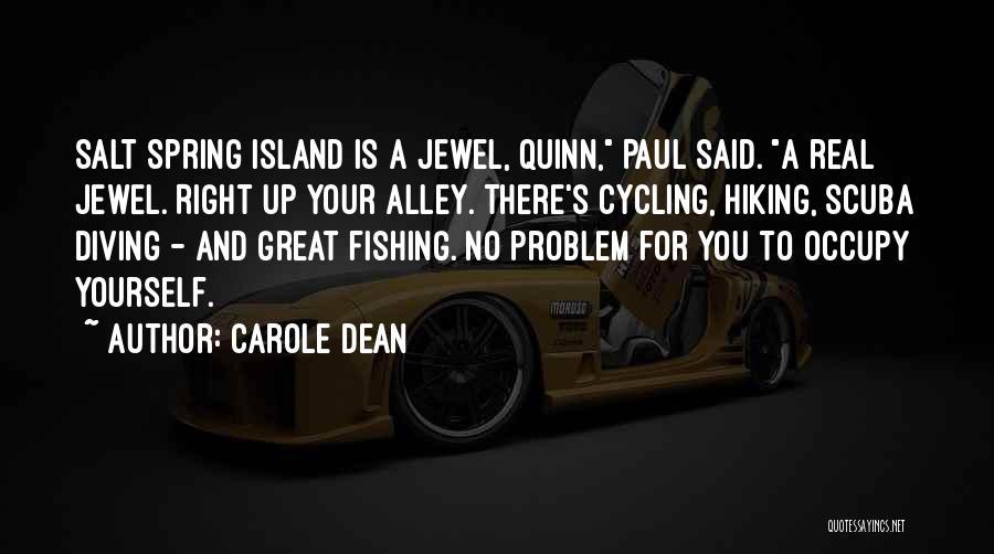 Scuba Diving Quotes By Carole Dean