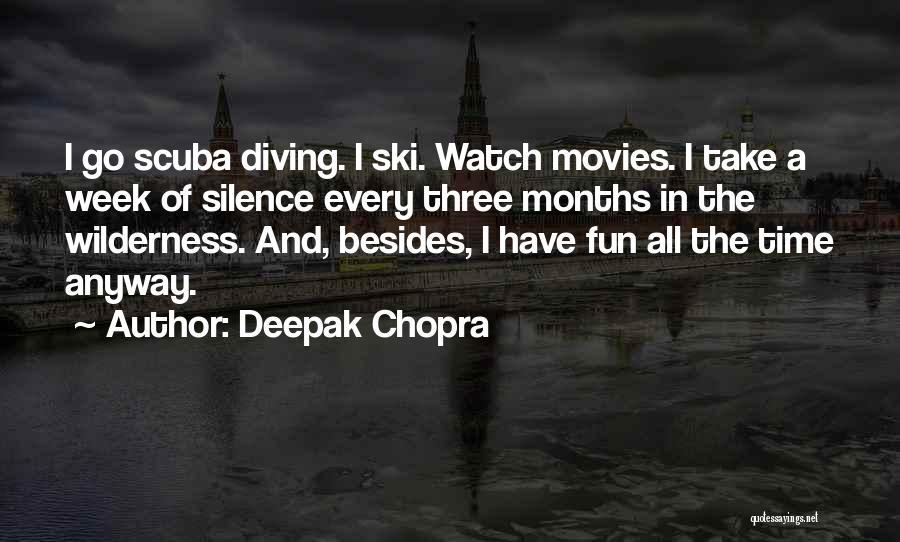Scuba Diving Quotes By Deepak Chopra