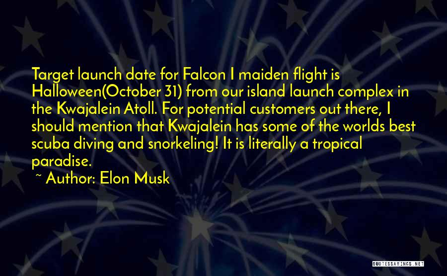 Scuba Diving Quotes By Elon Musk