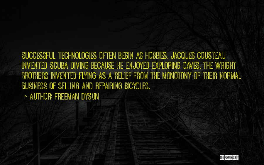 Scuba Diving Quotes By Freeman Dyson