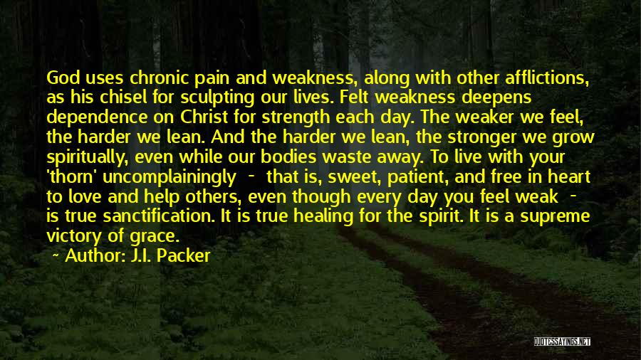 Sculpting Quotes By J.I. Packer