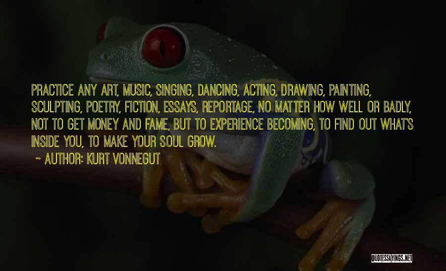 Sculpting Quotes By Kurt Vonnegut