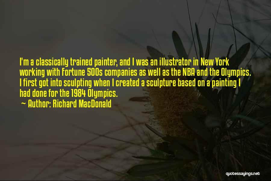 Sculpting Quotes By Richard MacDonald