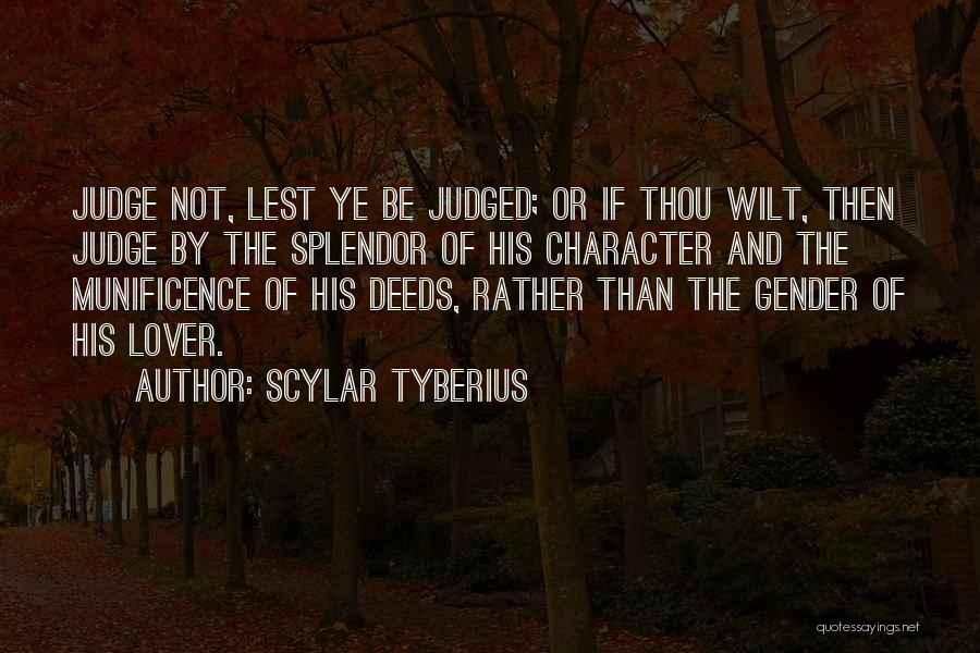 Scylar Tyberius Quotes 248954