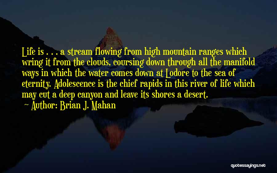 Sea And Clouds Quotes By Brian J. Mahan