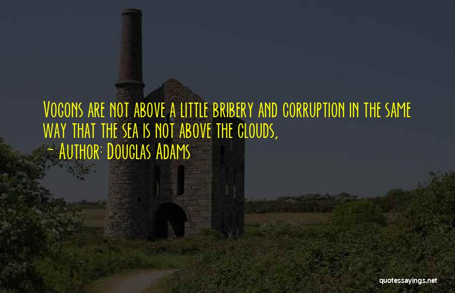 Sea And Clouds Quotes By Douglas Adams