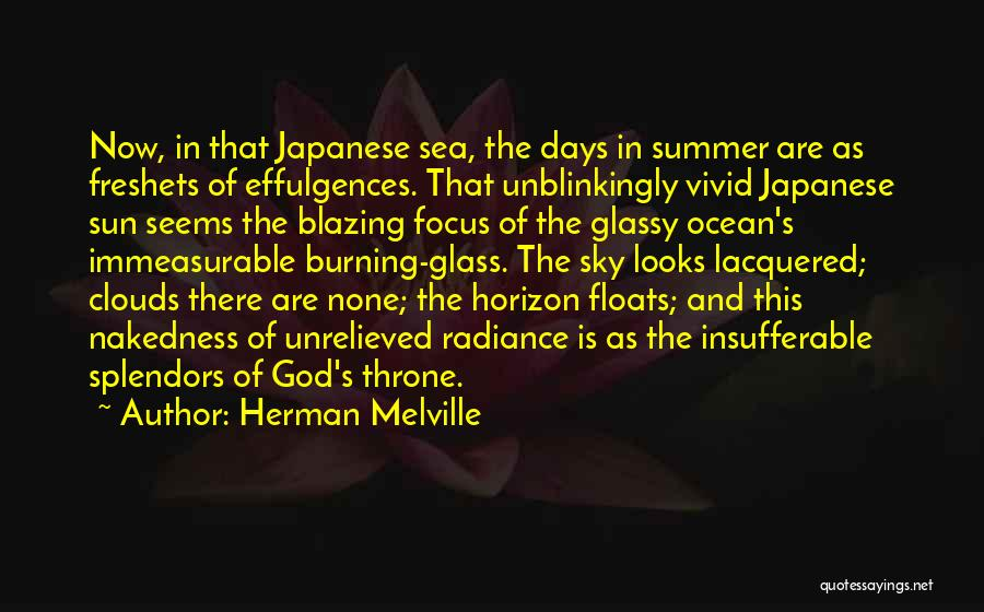 Sea And Clouds Quotes By Herman Melville