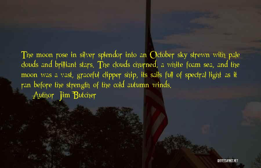 Sea And Clouds Quotes By Jim Butcher