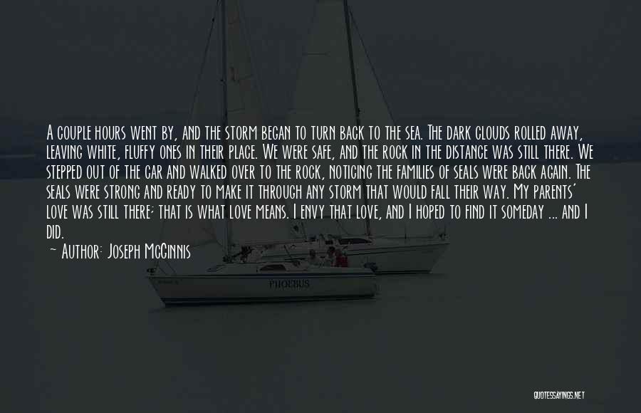 Sea And Clouds Quotes By Joseph McGinnis